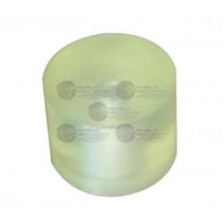 Par de Gomas de Impacto / 3.0 cm x 2.5 cm / Amortiguacion para Soporte de Motor de Barrera