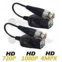 Pack / 16 Pares / Tranceptores / Push / HDCVI / HDTVI / AHD / CVBS / 250 Mts. a 720p / 200 Mts. a 1080p / 150 Mts. a 4K