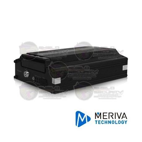 "MDVR Movil / AHD / Hibrido / 4ChHAHD / 1CH IP / 720p / Modulo 3G y GPS / Sop. HHD de 2.5"""