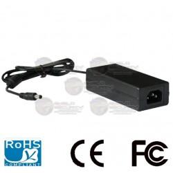 Fuente de Poder Regulada / 12 VDC / 4.1A / Cable de 1.2 Mts. / Negro