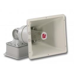 Sirena Electrónica de Alta Potencia / Interior / Exterior / 120 VAC / 111-120 dB / 4 Tonos