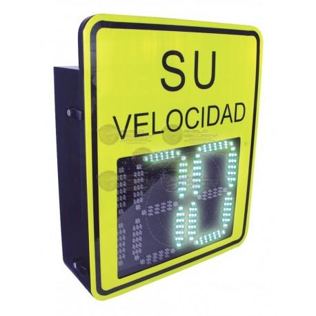 Radar Medidor de Velocidad de 3 Digitos / Salida Relevador / Bluetooth / Detección Exceso de Velocidad / Integra con Cámaras