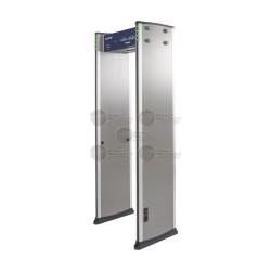 Detector de Metales de 6 zonas / Uso en Interior / Programación con Control Remoto / Contador