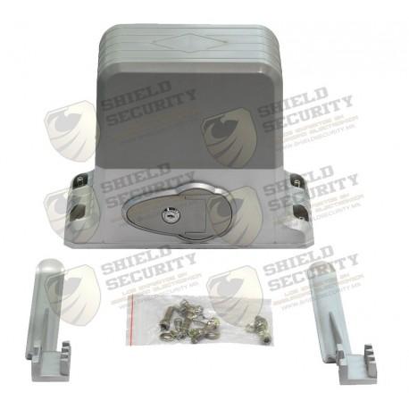 Motor para Puerta Deslizante / 1800 Kgs. / Control Remoto 418 Mhz. / Limites Fisicos / No Incluye Cremallera