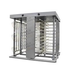 Torniquete Doble / Exterior / Interior / Fabricado 100% en Acero / Color Gris / P/Exterior