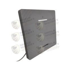 Lector RFID UHF + BLUETOOTH / LARGO ALCANCE 12 METROS / CLIMAS EXTREMOS / Programación desde Android/iOS / OSDP/Wiegand