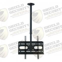 Soporte para Monitor de Techo / 1 Monitor / 23-55 Pulg. / Acero / VESA hasta 400 x 400 / CArga 56 Kg. Max./