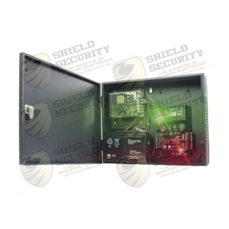 Panel de Control de Acceso para 2 Puertas / Incluye fuente de 12VCD/3A