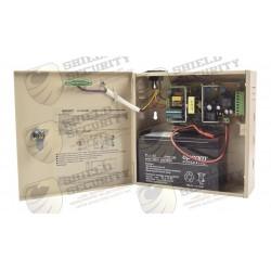 Fuente de Poder / Profesional / 12 VCD @ 3A / 1 Salida / Temporizador Integrado / Batería de Respaldo / Voltaje de Entrada : 110-246 VCA