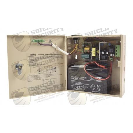 Fuente de Poder / Profesional / 12 VCD @ 3A / 1 Salida / Temporizador Integrado / Batería de Respaldo