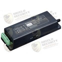 Fuente de Poder para Chapas y Cerraduras / Tiempo de Retardo Ajustable / 2 Salidas de 12V DC / Conexión de Boton