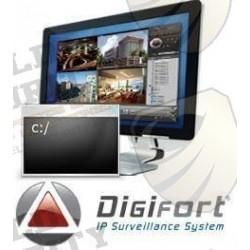 Sistema de reconocimiento facial plus / Real Networks / Licencia para 1 Camara