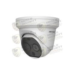 Cámara Domo / Deteccion de Temperatura Corporal / Medición Multiple para Areas de Alto Flujo de Personas / Lente Termico 3 mm