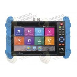 "Probador de Video / ANDROID / Pantalla LCD 7"" / IP ONVIF / HD-TVI (8MPX) /HD-CVI (8MP) y AHD (5MP) / Wi-Fi / Scanner IP / Entrada HDMI"