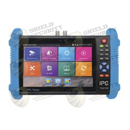 "Probador de Video / ANDROID / LCD 7"" / IP ONVIF / HD-TVI / HD-CVI / AHD / Wi-Fi / Scanner IP / Entrada HDMI"