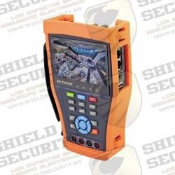 Probador de Vídeo / IP ONVIF / TurboHD / Analógico / Salida HDMI / WIFI / Multímetro Digital