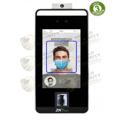 """Control de Acceso y Asistencia / Reconocimiento Facial y Palma / Pantalla Touch de 5""""/ Detección de Temperatura / Anti-Suplantación"""