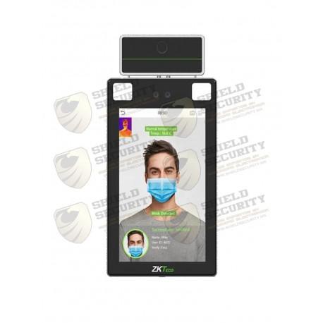 Control de Acceso y Asistencia / Rec Facial y Palma / Detect de Temperatura y Cubrebocas / Antipandemico / Anti-Suplantación