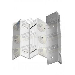 Soporte de Fijacion ZL / Para Puerta con Apertura Interior / Compatible con Electroiman YM280N / YM280NLED