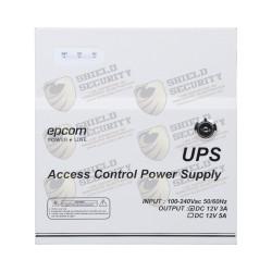 Fuente de Poder Profesional / 12 VCD / 3A / 1 Salida con Temporizador / Soporta Batería de Respaldo