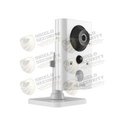 Cubo IP 2 Megapixel / Lente 2.8 mm / 10 Mts IR / Sensor PIR Integrado / WiFi / Audio de Dos Vías / Memoria Micro SD / P2P