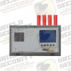 Detector de Incendio por Aspiración Inteligente 4 Tuberías 1 zona