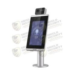 Terminal Biométrico para Acceso con Rec. Facial ULTRA RÁPIDO / WiFi / Cámara Dual 2mp