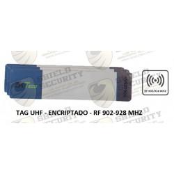 Tag / Papel / Adherible / Encriptado / 915 Mhz / compatible con panel UHF5F y UHF10F / Pack 10 Pzas