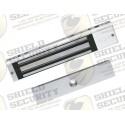 Electroiman / Chapa Magnetica / 280 Kg. / 600 Lbs. / Sensor de Estado / Certificado CE / Para Interior / Indicador LED / Magnetismo Anti-residual