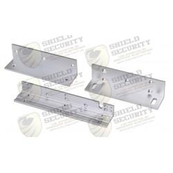 Kit de montajes Z y L para Cerradura Magnética HIKVISION / Compatible con DS-K4H258
