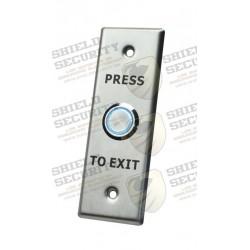 Botón de Salida / Aro Iluminado/ IP65