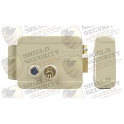 Cerradura Eléctrica | Incluye Llave | Derecha | Con Botón Integrado | Exterior