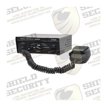 Sirena Compacta de 100W de Potencia / Alto Rendimiento / Fácil Instalación