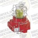 Luz de Advertencia LED / A Prueba de Explosión / 110-240 VCA / ATEX / IECEX / Ambar