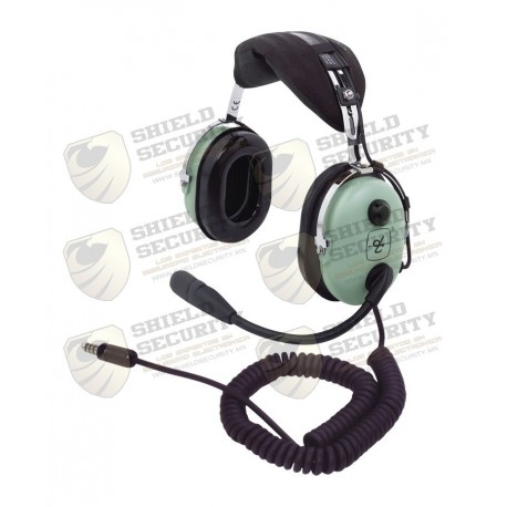 Auriculares con Atenuación de Ruido Pasivo / Para Radios Aéreos en Helicópteros