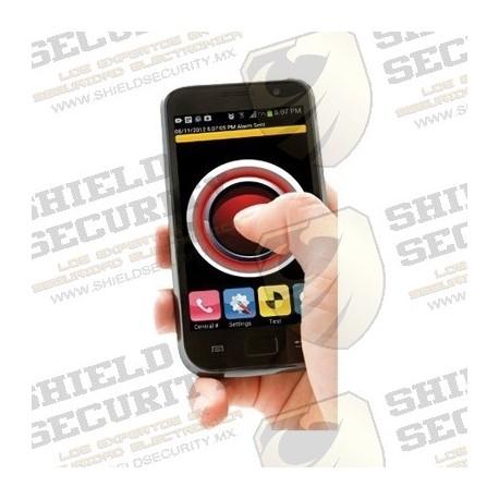Licencia / Modulo App / Botón de Pánico / Asistencia Personal / Envía Posición GPS a Central de Alarmas