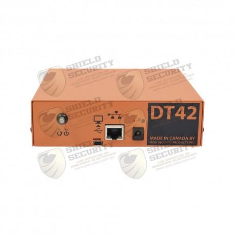 Receptora de alarmas Hibrida IP / 1 Entrada Telefónica / IDEAL para su Central de Monitoreo