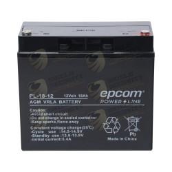 Batería con Tecnología AGM / VRLA, 12 VCD / 18 Ah / Terminal de Tornillo HEX