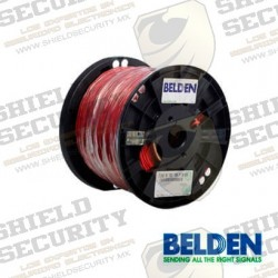 Cable de Alarma contra Incendios | Forro PVC | Rojo | 2 Conductores | Cal. 16 AWG | 100% Cobre