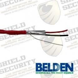 Cable de Alarma contra Incendios | Forro PVC |Rojo| 2 Conductores | Cal. 18 AWG | CMR | RISER-FPLR | 100% Cobre