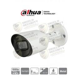 Cámara | Bullet | HDCVI | 1080p | STARLIGHT 0.005 Lux | 106 Grados de Apertura | Lente 2.8mm | IR 30 Mts | IP67 | Metálica | TVI / AHD y CVBS