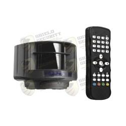 Kit | Sensor Láser | Control Remoto | Evite el uso de Lazos Magnéticos | Protege Carriles de hasta 9.6 Mts de Ancho