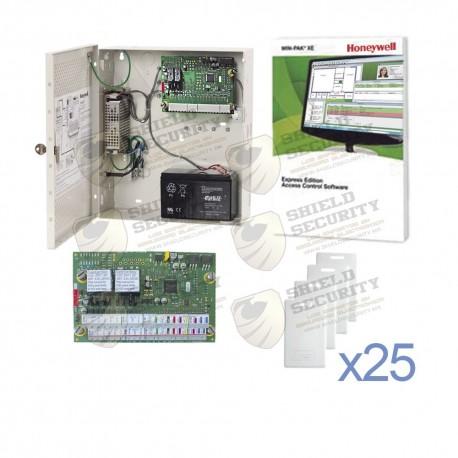 Control de Acceso NETAXS | 3 Puertas | Incluye Licencia Software Win-Pak XE