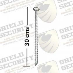 Ancla para Instalación de Topes y Reductores de Velocidad en Asfalto o Concreto / 30 cms / Acero al Carbón