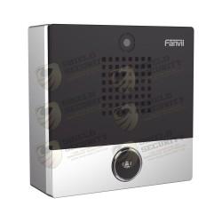 Mini Videoportero | Para Hotelería y Hospitales | Diseño Elegante | PoE | Cámara 1Mpx | 1 Botón