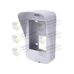 Cubierta de Pared en Metal | Compatible con DS-KV8102-IP y DS-KV8102-VP