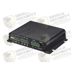 Gateway para Voceo, Paging y Video | Soporte 1 Cámara | Amplificador Integrado de hasta 30W