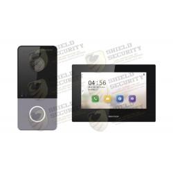 Kit de Videoportero | IP LITE | Llamada a App de Smartphone (Hik-Connect) | Frente de Calle IP65 | Soporta PoE Estándar