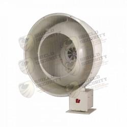 Sirena para Exterior | Alta Potencia | 128 dB | 500hz
