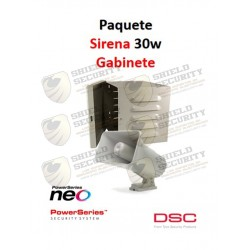 Pack Basico | Power | Panel PC1832PCBSPA | 8 Zonas | Teclado ICON PK5501| Gabinete GTVCMX003